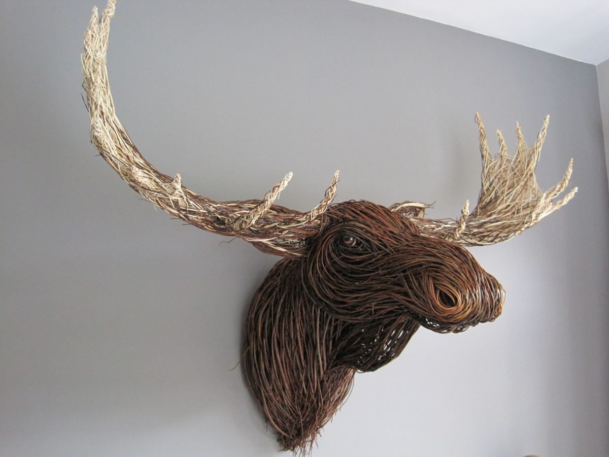 Willow Decorative Stag Head Sculpture-Making Course